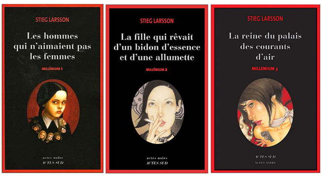 La série de romans Millenium