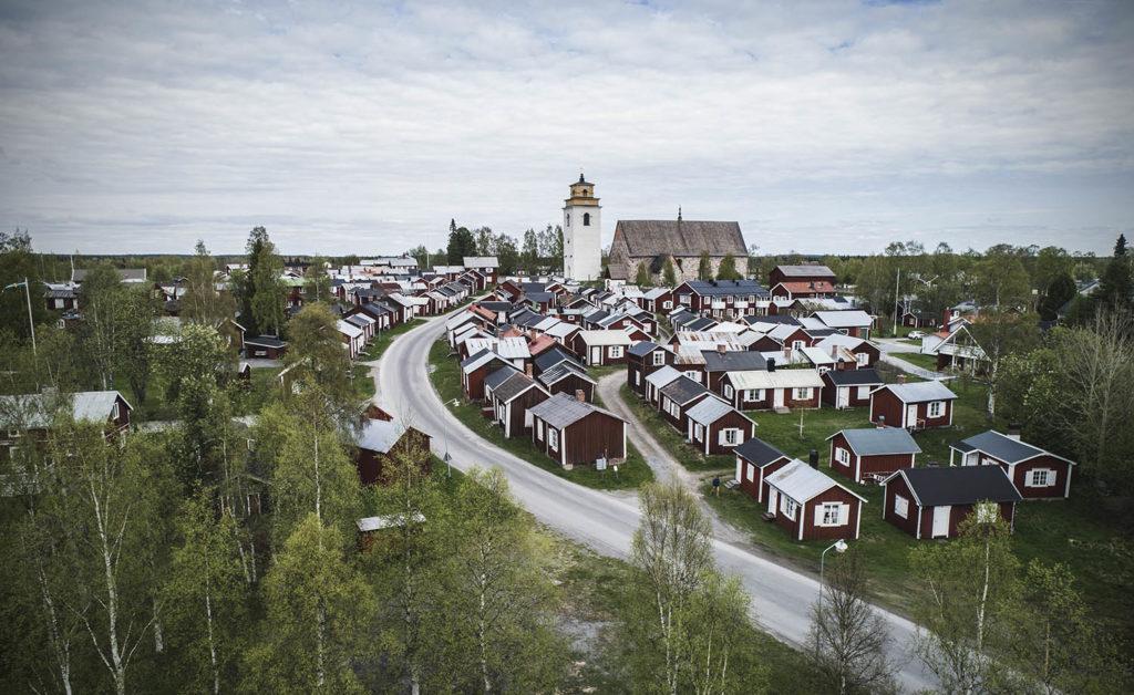 Gammelstad, village-église de Luleå