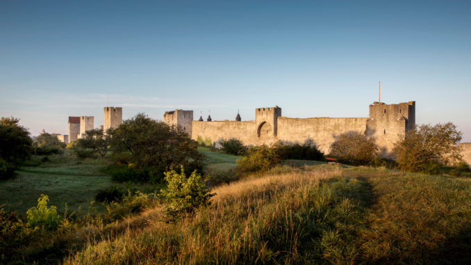 Mur de la ville de Visby