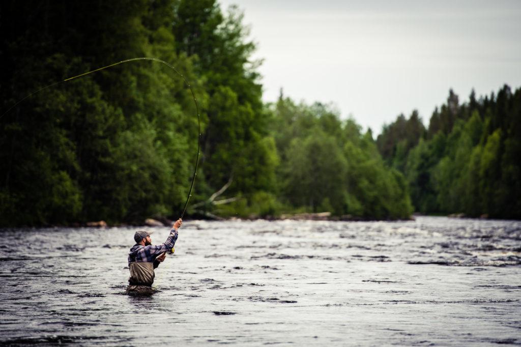 Pêche au saumon