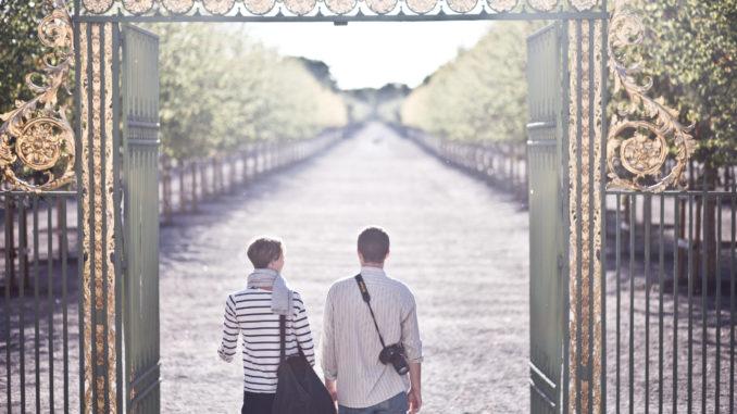 Portail du parc de Drottningholm