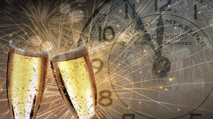 Champagne à minuit