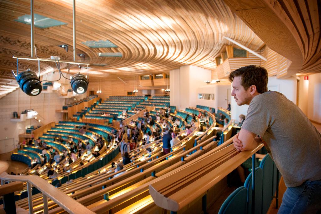 Aula Magna, université de Stockholm