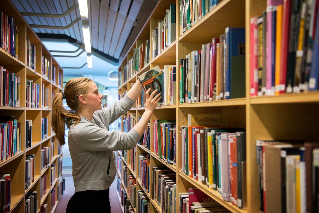 Biblitohèque de l'université de Stockholm