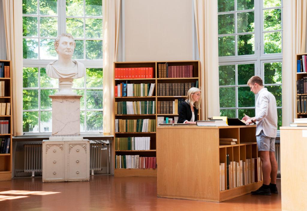 Bibliothèque de l'université d'Uppsala