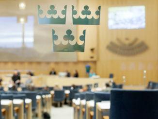 Riksdagen, le Parlement suédois