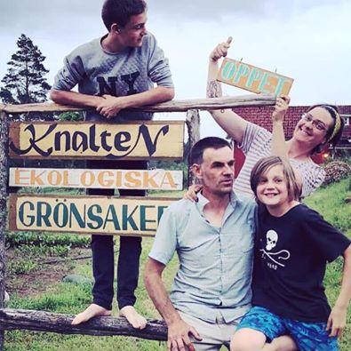 Ferme Knalten et famille Katarincek