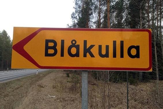Pancarte Blåkulla