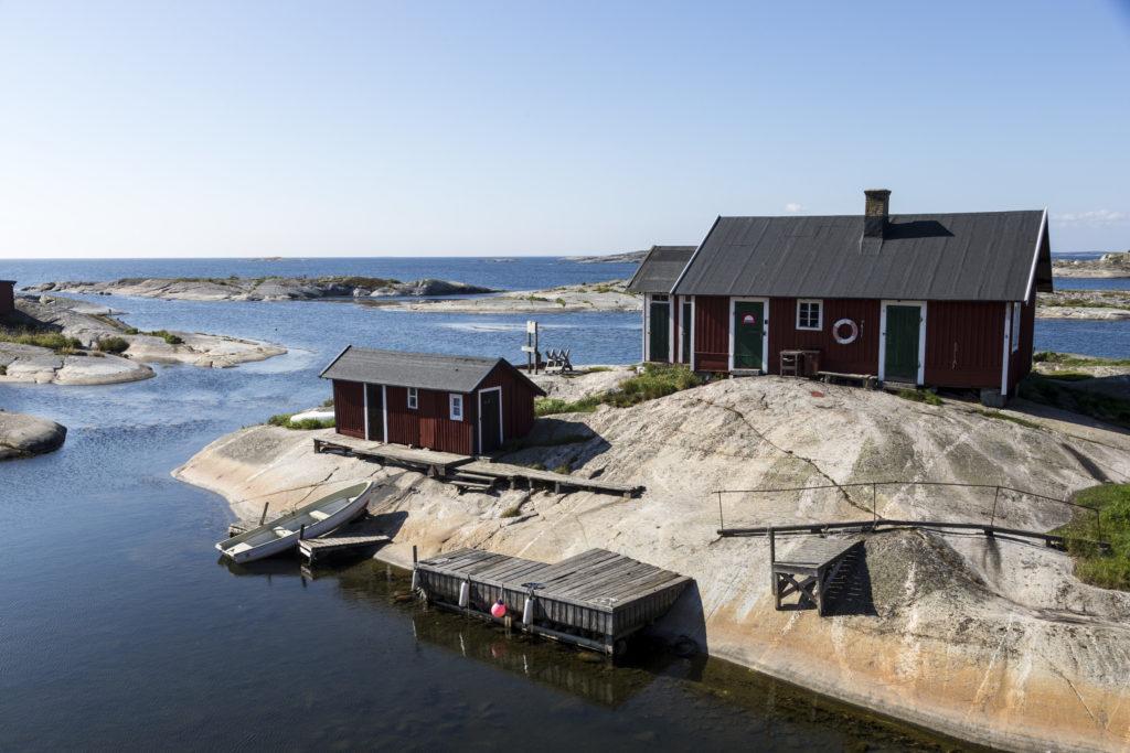 Cabanes dans l'archipel de Stockholm