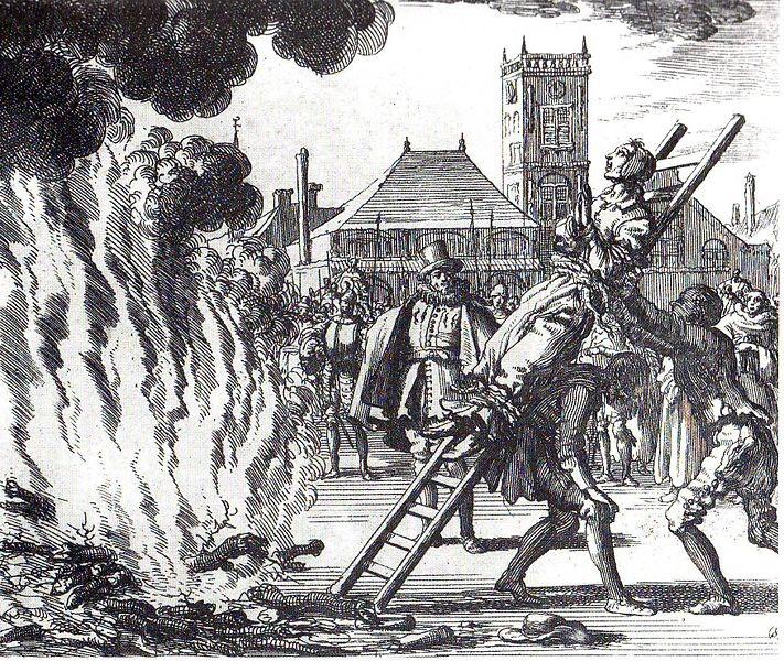 Bûcher aux sorcières