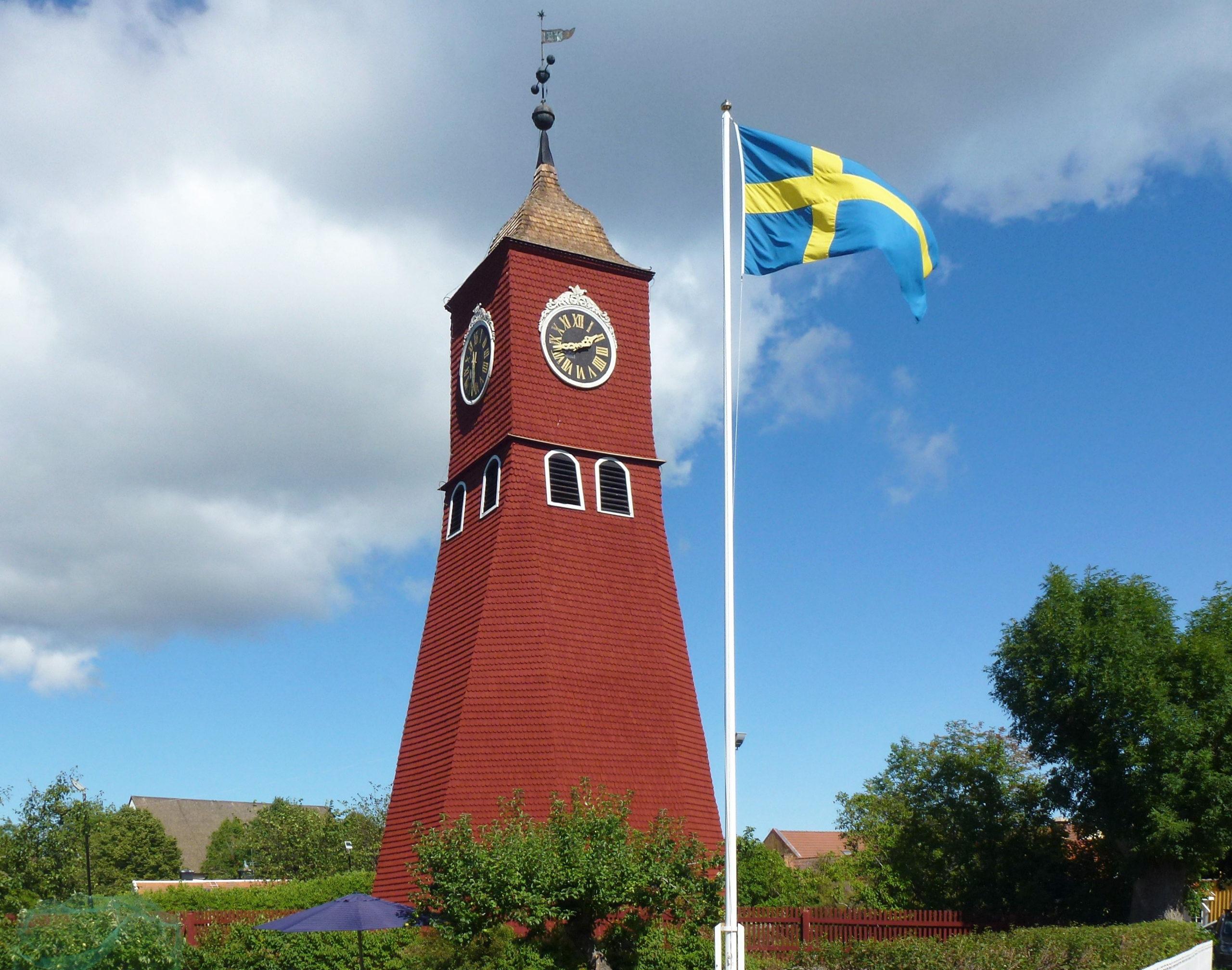 Clocher de l'église d'Öregrund