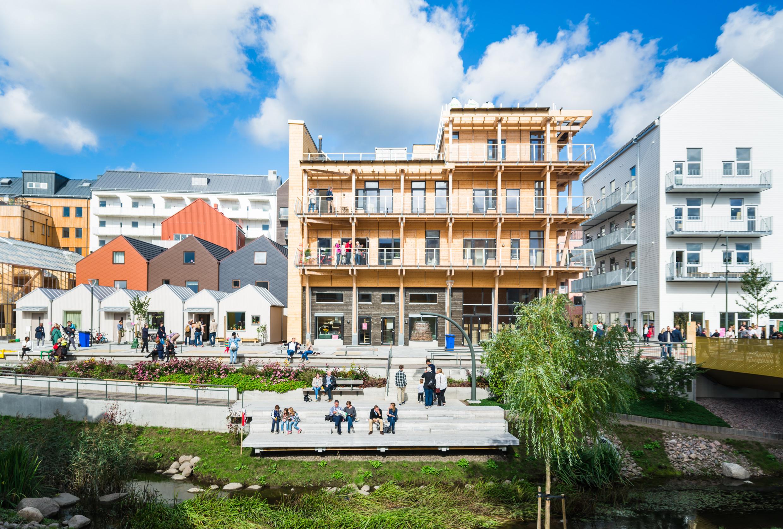 """Vallastaden, quartier """"smart"""" à Linköping"""
