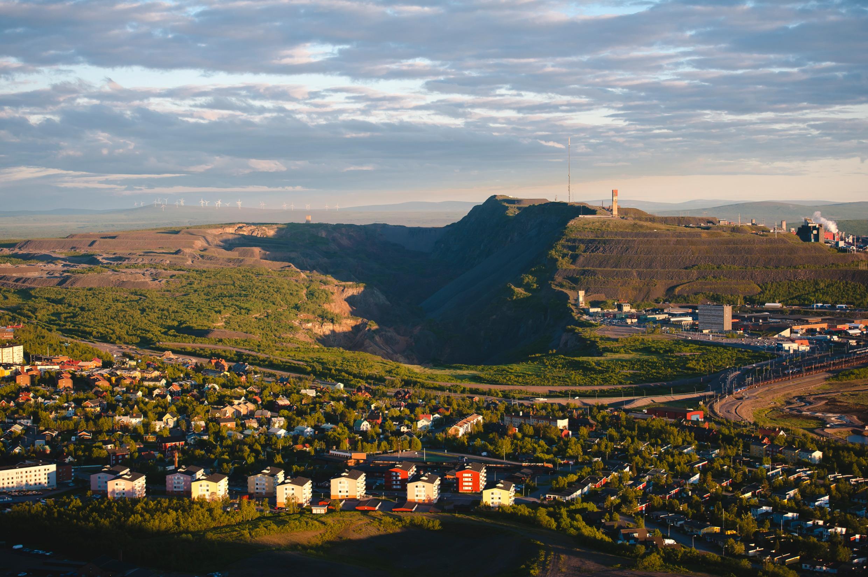 Ville et mine de Kiruna