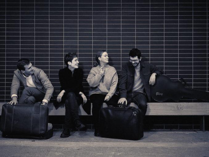 Paul Jarret et son quartet ©Ory Minie