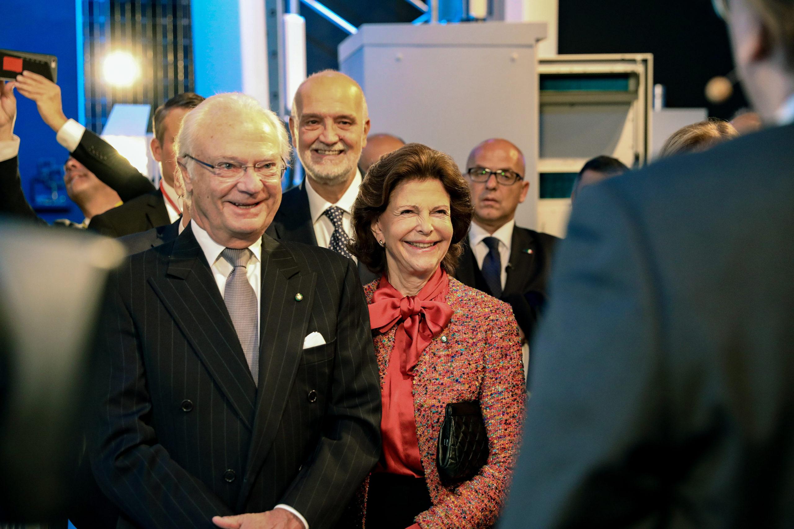 Le roi et la reine de Suède lors de la visite officielle de l'Italie les 13-15 novembre 2018