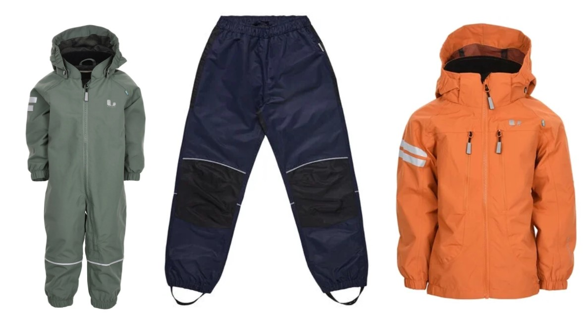 Combinaison, sur-pantalon et manteau