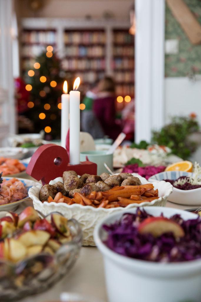 Julbord, buffet de Noël