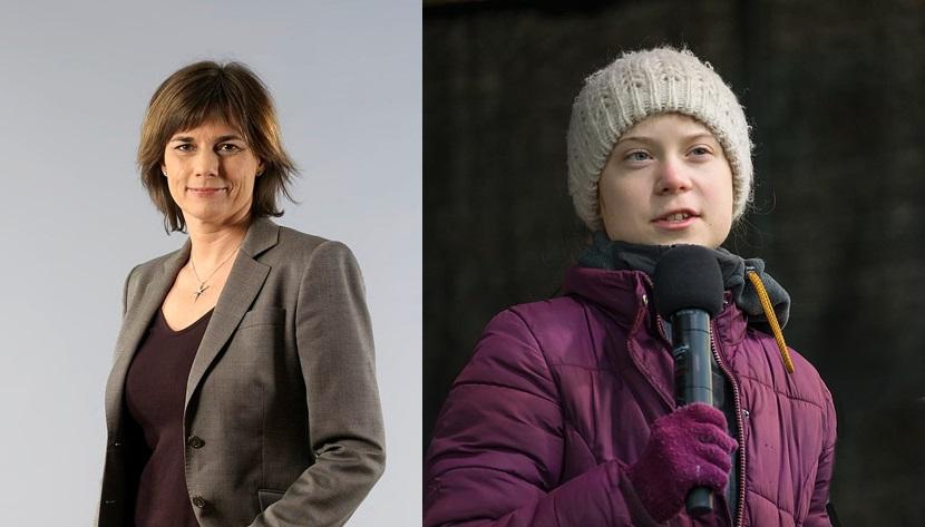 Isabella Lövin - Greta Thunberg