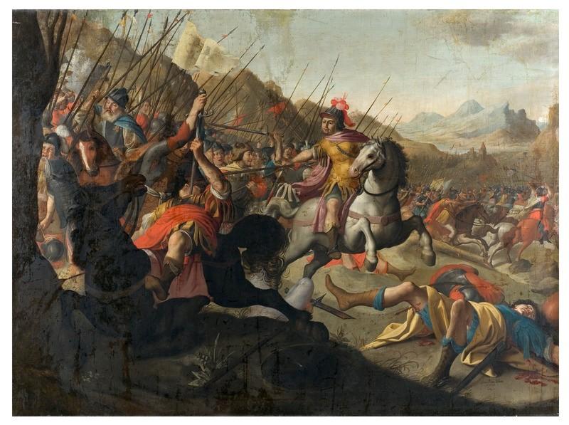 Bataille romaine, Simon Peter Tileman