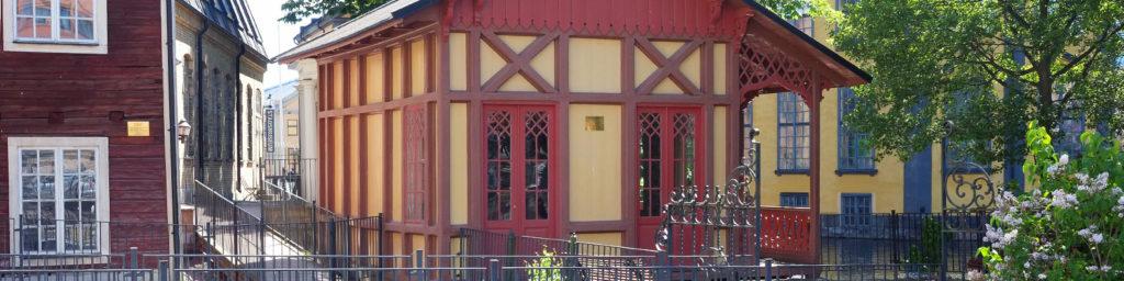 Sommarlusthuset som Asklund flyttade 1868