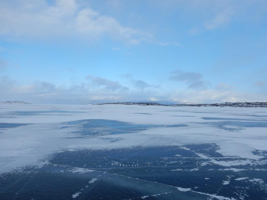 Lac et glace