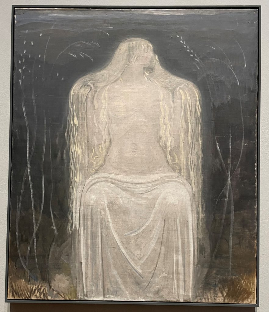 Freja, tempera sur toile, John Bauer, 1917