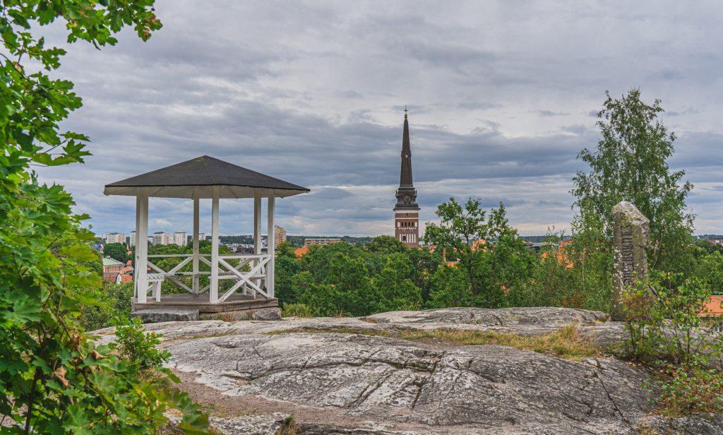 Vue panoramique depuis Djäkneberget